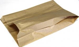 Пакет бум. крафт лощеный 42гр.210х140х60