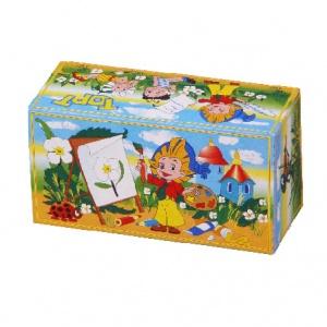 Бумажная тортовая упаковка 240х125х110 - 0,8 кг.