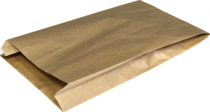 Пакет бум. крафт лощеный 42гр. 330х200х90