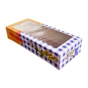 Коробка для пирожных №2 - 0,4 кг.