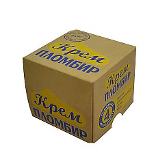 "Упаковка для мороженого ""Кубик"""