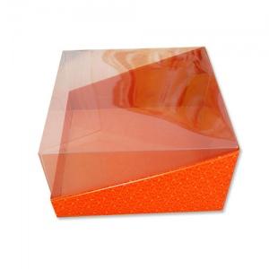 Картонная тортовая упаковка 200х200х100